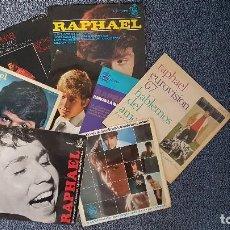 Discos de vinilo: RAPHAEL - 7-UNIDADES (EP,S) EDITADOS POR HISPAVOX - AÑOS 1.964 AL 1.968. Lote 203606485