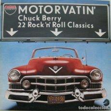 Discos de vinilo: DOBLE LP-MOTORVATIN-CHUCK BERRY -22 ROCK N ROLL CLASSIC-ORIGINAL ANALÓGICO SPAIN 1977. Lote 203610100