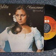 Discos de vinilo: LOLITA - AMOR, AMOR / QUE SERÁ DE MI. EDITADO POR CBS. AÑO 1.975. Lote 203611322