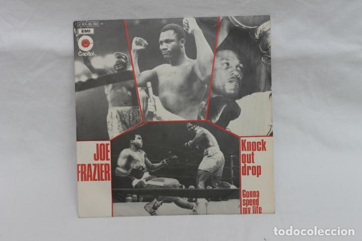 JOE FRAZIER SINGLE KNOCK OUT DROP / 1971 CAPITOL, EMI (Música - Discos - Singles Vinilo - Funk, Soul y Black Music)