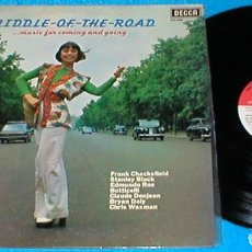 Discos de vinilo: MIDDLE OF THE ROAD SPAIN LP 1975 MUSIC FOR COMING AND GOING DECCA PFS4282 LES REED RAY MARTIN 4FASES. Lote 203620368