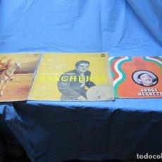 Discos de vinilo: LOTE DE LP DE MIGUEL ACEVES MEJIAS Y JORGE NEGRETE. Lote 203622121