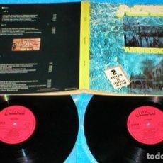 Discos de vinilo: PUZZLE ARRIVEDERCI SPAIN DOBLE LP 1978 MILVA DOMENICO MODUGNO ADRIANO CELENTANO. Lote 203624135