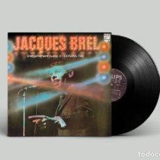 Discos de vinilo: JACQUES BREL – ENREGISTREMENT PUBLIC A L'OLYMPIA 1961. Lote 203637021