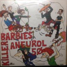 Discos de vinilo: KILLER BARBIES - ANEUROL 50 - NO FUTURE - ELVIS LIVE - SUBTERFUGE. Lote 203729290