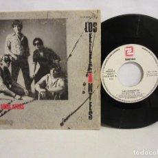 Discos de vinilo: LOS ELEGANTES - DOS AÑOS ATRAS / NO LO SE - SINGLE - 1985 - ESPAÑA - VG/G. Lote 203748765