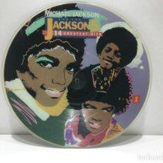 Discos de vinilo: MICHAEL JACKSON AND THE JACKSON FIVE - 14 GREATEST HITS - SOLO VINILO. Lote 203763625