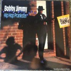 Discos de vinilo: BOBBY JIMMY & THE CRITTERS - HIP HOP PRANKSTER . LP . 1990 USA. Lote 203769546