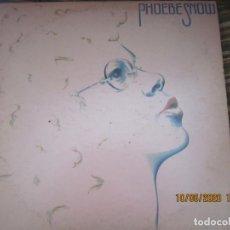 Discos de vinilo: PHOEBE SNOW - PHOEBE SNOW LP - ORIGINAL U.S.A. DEBUT ALBUM - SHELTER RECORDS 1974 -. Lote 203772647