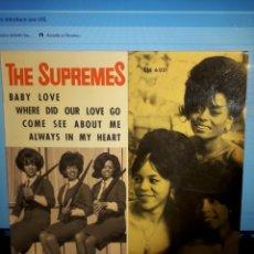 Discos de vinilo: THE SUPREMES BABY LOVE. Lote 203781335