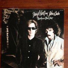Discos de vinilo: DARYL HALL JOHN OATES BEAUTY ON A BACK STRE 1977, COMPLETA 1ª EDIC ORG USA + ENCARTE-POSTER, TODO EX. Lote 203783240
