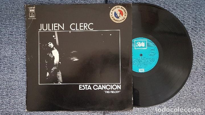 JULIEN CLERC - THIS MELODY. EDITADO POR EMI ODEON. AÑO 1.976. VIENE CON LA LETRA DE LAS CANCIONES (Música - Discos - LP Vinilo - Canción Francesa e Italiana)