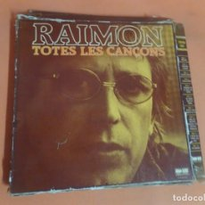 Discos de vinilo: LP, RAIMÓN CAJA SET 10 LP,S TOTES LES CANÇONS , BELTER , VER FOTOS. Lote 203797247