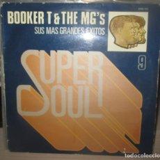Discos de vinilo: BOOKER T. & THE MG'S M.G.'S - SUS MAS GRANDES EXITOS - LP - STAX 1984 SPAIN SUPER SOUL MUSIC 9. Lote 203797742