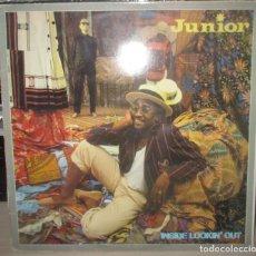 Discos de vinilo: JUNIOR. INSIDE LOOKIN' OUT (LP) ESPAÑA 1983. Lote 203798060