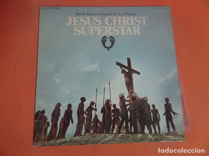 DOBLE LP , BSO JESUS CHRIST SUPERSTAR. JESUCRISTO SUPERSTAR, VER FOTOS (Música - Discos - LP Vinilo - Bandas Sonoras y Música de Actores )