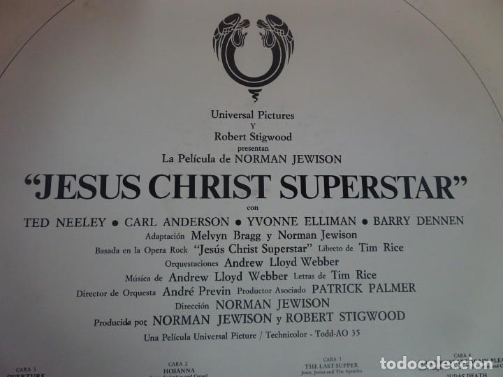 Discos de vinilo: DOBLE LP , BSO JESUS CHRIST SUPERSTAR. JESUCRISTO SUPERSTAR, VER FOTOS - Foto 7 - 203803628