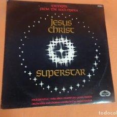 Discos de vinilo: LP EXCERPTS FROM THE ROCK OPERA JESUS CHRIST SUPERSTAR. HALLMARK, VER FOTOS. Lote 203804073