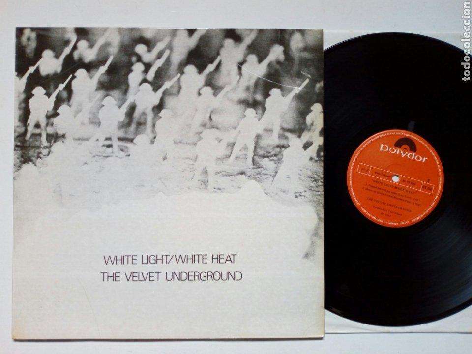 LP: THE VELVET UNDERGROUND - WHITE LIGHT / WHITE HEAT (POLYDOR) - REEDICIÓN ESPAÑOLA DE 1980- (Música - Discos - LP Vinilo - Pop - Rock Internacional de los 50 y 60)