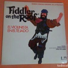 Discos de vinilo: LP, EL VIOLINISTA EN EL TEJADO BANDA SONORA ORIGINAL, VER FOTOS. Lote 203804450