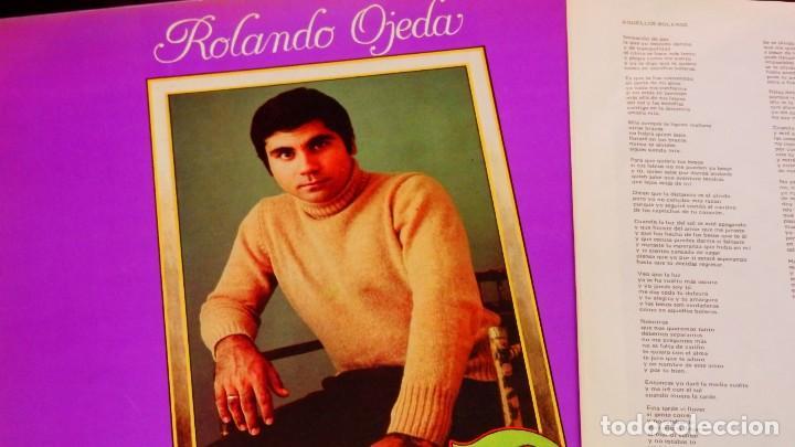 Discos de vinilo: ROLANDO OJEDA * SIEMPRE * NUEVO de 1978 (El Rey del Bolero) * Carpeta Gatefold - Foto 4 - 22456809