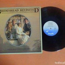 Discos de vinilo: LP, BRIDESHEAD REVISITED BSO SERIE TV, VER FOTOS. Lote 203811581