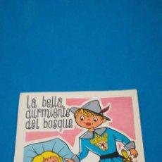 Discos de vinilo: DISCO FLEXIBLE LA BELLA DURMIENTE DEL BOSQUE, SELLADO EN LA PARTE TRASERA, 1965. Lote 203813970