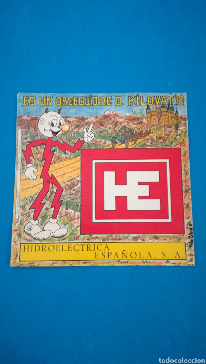HIDROELÉCTRICA ESPAÑOLA - DON KILOVATIO - DISCO FLEXIBLE LA CENICIENTA - 1971 (Música - Discos - Singles Vinilo - Música Infantil)
