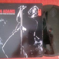 Discos de vinilo: BRYAN ADAMS MAXI CAN'T STOP THIS THING WE STARTED + 2 DE 1991 VINILO SERIGRAFIADO VG+. Lote 203815501