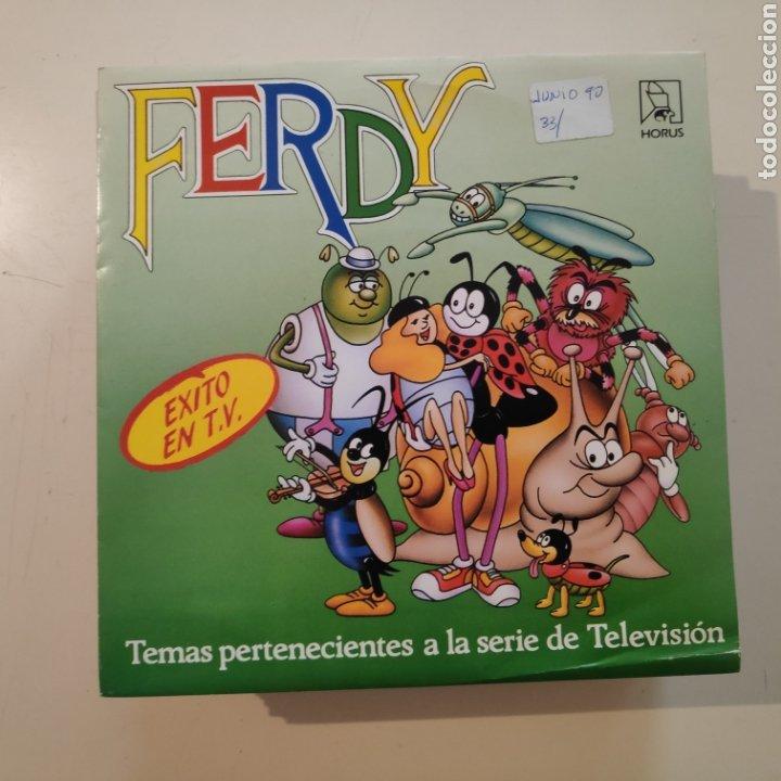 NT FERDY 1989 EP VINILO SPAIN DIBUJOS ANIMADOS TVE (Música - Discos de Vinilo - EPs - Música Infantil)