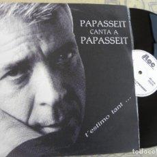 Discos de vinilo: PERE PAPASSEIT CANTA A JOAN SALVAT PAPASSEIT - 2 TEMAS: T´ESTIMO TANT - POEMA SENSE ACABA. Lote 203832927