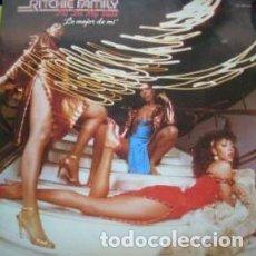 Discos de vinilo: RITCHIE FAMILY I´LL DO MY BEST LO MEJOR DE MI ...LP ZAFIRO ORIGINAL 1982 TITULO EN ESPAÑOL. Lote 203835877