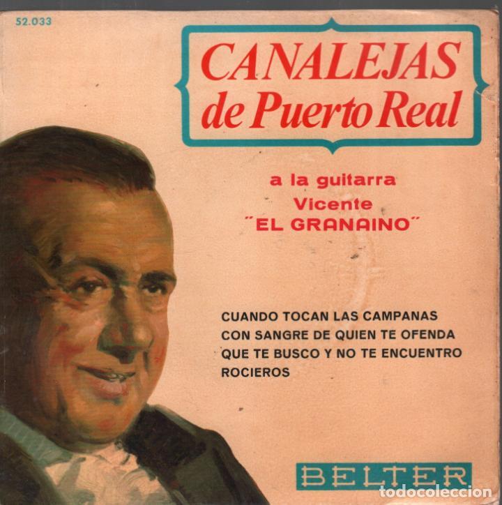 CANALEJAS DE PUERTO REAL - CUANDO TOCAN LAS CAMPANAS / CON SANGRE DE QUIEN TE OFENDA...EP (Música - Discos de Vinilo - EPs - Flamenco, Canción española y Cuplé)