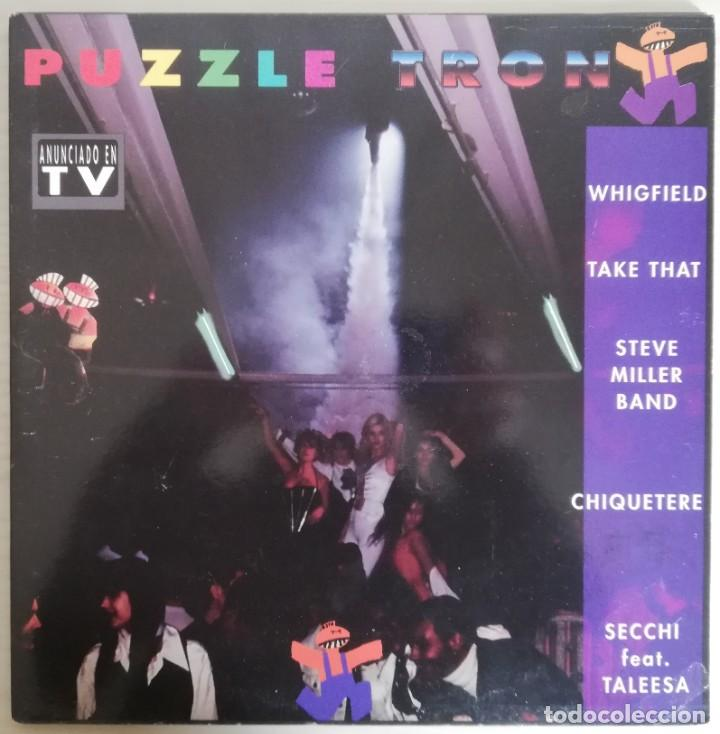 DISCO DE VINILO PUZZLE TRON--DOBLE LP (Música - Discos - LP Vinilo - Techno, Trance y House)