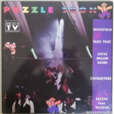 Discos de vinilo: DISCO DE VINILO PUZZLE TRON--DOBLE LP. Lote 203869237