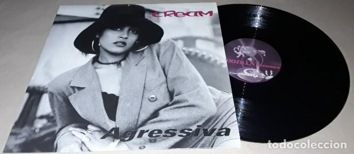 MAXI SINGLE - CREAM - AGRESSIVA - AGRESSIVA / ABV BONUS / GET FUNKY / WHAT IS IT - CREAM (Música - Discos de Vinilo - Maxi Singles - Techno, Trance y House)