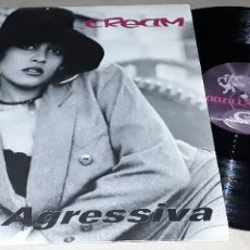 Discos de vinilo: MAXI SINGLE - CREAM - AGRESSIVA - AGRESSIVA / ABV BONUS / GET FUNKY / WHAT IS IT - CREAM. Lote 203878796