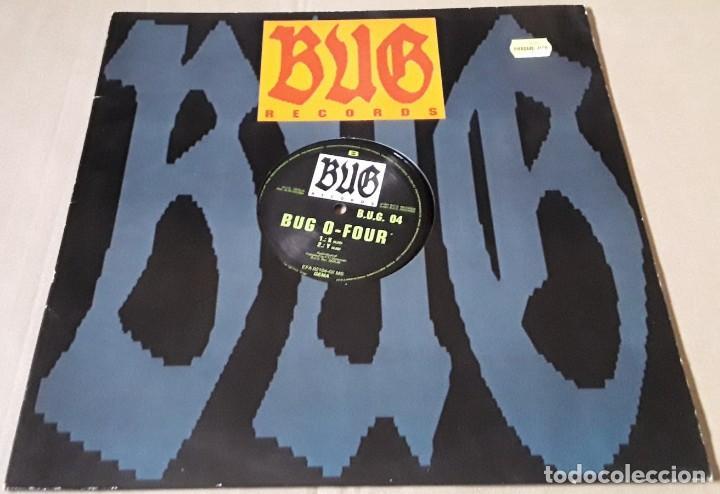 MAXI SINGLE - BUG O-FOUR - M - BUG O FOUR - W / X / Y - MADE IN GERMANY (Música - Discos de Vinilo - Maxi Singles - Techno, Trance y House)
