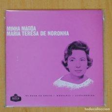 Discos de vinilo: MARIA TERESA DE NORONHA - MINHA MAGOA + 3 - EP. Lote 203881777