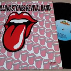 Discos de vinilo: MAXI SINGLE - THE ROLLING STONES REVIVAL BAND - THE ROLLING STONES. Lote 203882871