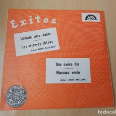Discos de vinilo: SALGADO Y SU GRUPO DECIMO, EP, LICENCIA PARA BAILAR + 3, AÑO 1970 PROMO. Lote 203884332