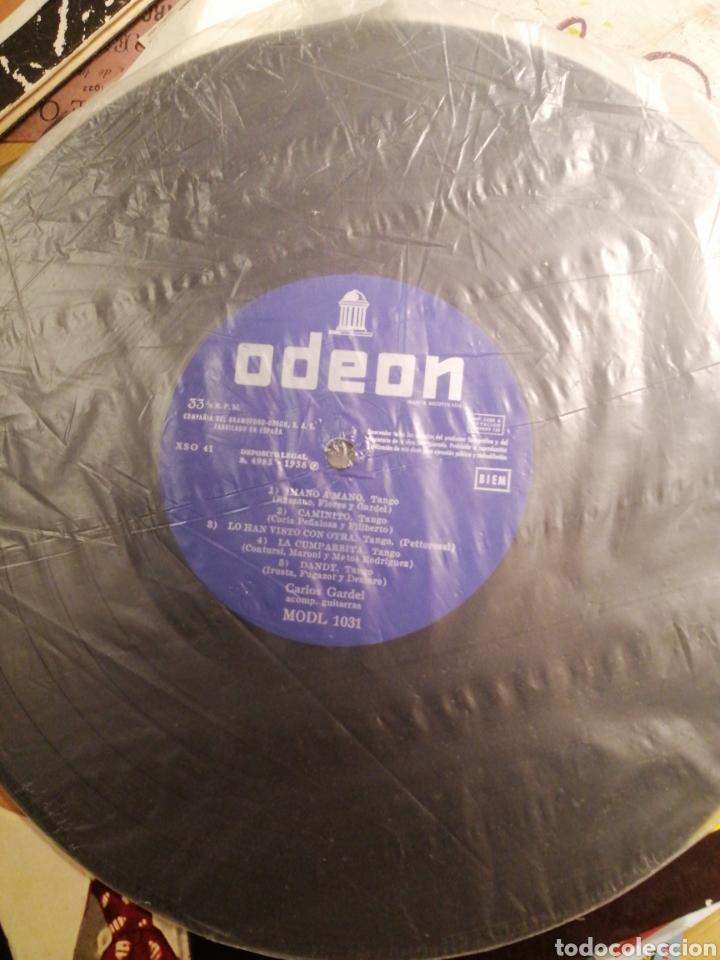 Discos de vinilo: Carlos Gardel LP como nuevo Odeón EMI editado 1958 - Foto 3 - 203885162