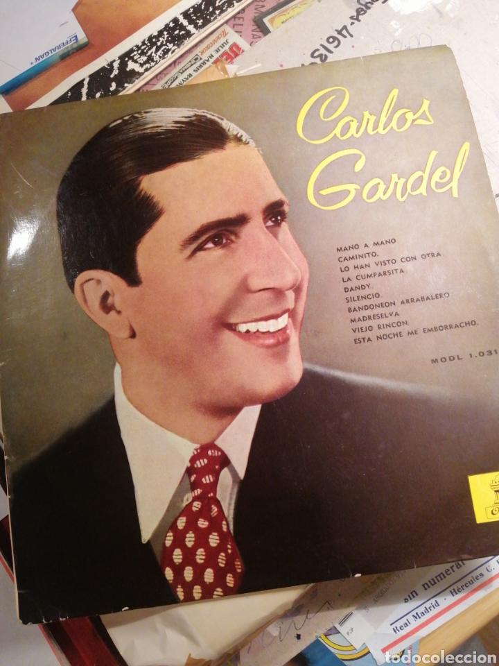CARLOS GARDEL LP COMO NUEVO ODEÓN EMI EDITADO 1958 (Música - Discos - LP Vinilo - Grupos y Solistas de latinoamérica)