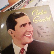Discos de vinilo: CARLOS GARDEL LP COMO NUEVO ODEÓN EMI EDITADO 1958. Lote 203885162