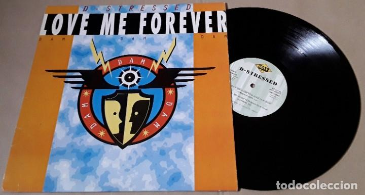 MAXI SINGLE - D-STRESSED - LOVE ME FOREVER ( DAM DAM DAM ) - D - STRESSED (Música - Discos de Vinilo - Maxi Singles - Disco y Dance)