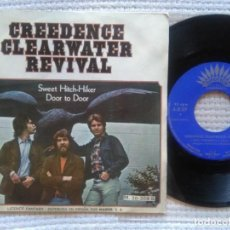 """Discos de vinilo: CREEDENCE CLEARWATER REVIVAL - """" SWEET HITCH-HIKER """" SINGLE 7"""" PROMO SPAIN. Lote 203889115"""