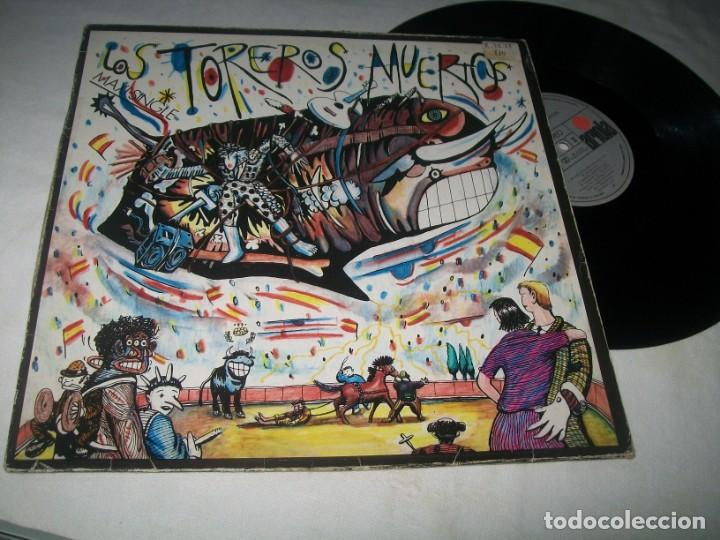 TOREROS MUERTOS - YO NO ME LLAMO JAVIER , MI AGUITA AMARILLA + 2 MAS ..MAXISINGLE DE 1986 (Música - Discos de Vinilo - Maxi Singles - Grupos Españoles de los 70 y 80)