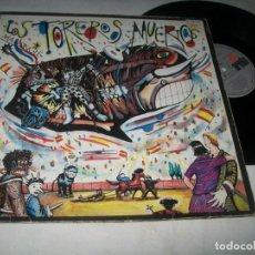 Discos de vinilo: TOREROS MUERTOS - YO NO ME LLAMO JAVIER , MI AGUITA AMARILLA + 2 MAS ..MAXISINGLE DE 1986. Lote 203889967