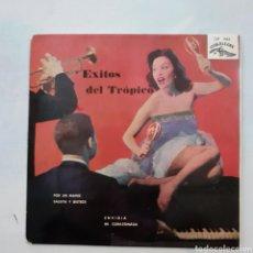 Discos de vinilo: ÉXITOS DEL TRÓPICO. EP. CUBALEGRE CEP 1466. 1962 ESPAÑA. FUNDA VG+. DISCO VG++.. Lote 203894157