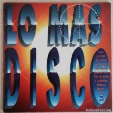 Discos de vinilo: DISCO DE VINILO LO MAS DISCO 3--DOBLE LP. Lote 203899005